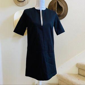 EMERSON FRY Weston dress black tunic XS mod